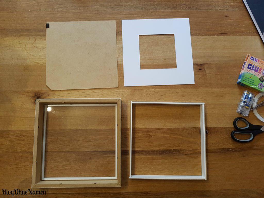 plotter anleitung bilderrahmen mit sterntraumfolie. Black Bedroom Furniture Sets. Home Design Ideas
