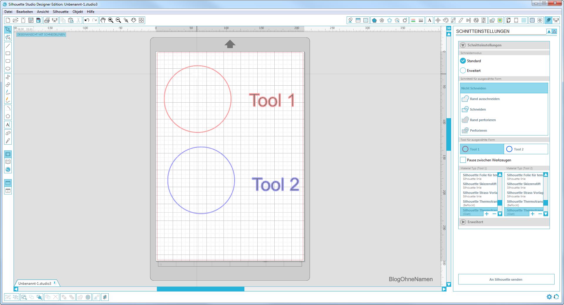 Tool 1 & Tool 2 im Vergleich